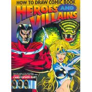 -importados-eua-how-to-draw-comic-book-heroes-and-villains