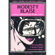 -importados-eua-modesty-blaise-the-lady-killers-garvins-travels-the-scarlet-maiden
