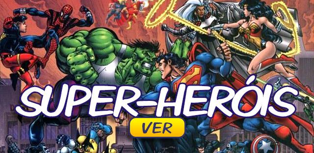 Banner Super Herois