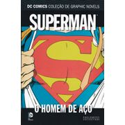 DC-Comics---Colecao-de-Graphic-Novels---08---Superman---O-Homem-de-Aco