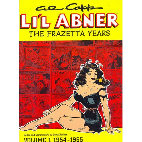 -importados-eua-al-capps-lil-abner-the-frazetta-years-volume-1-1954-1955