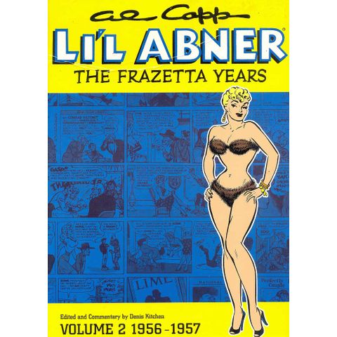 -importados-eua-al-capps-lil-abner-the-frazetta-years-volume-2-1956-1957