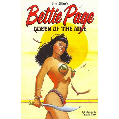 -importados-eua-bettie-page-queen-of-the-nile