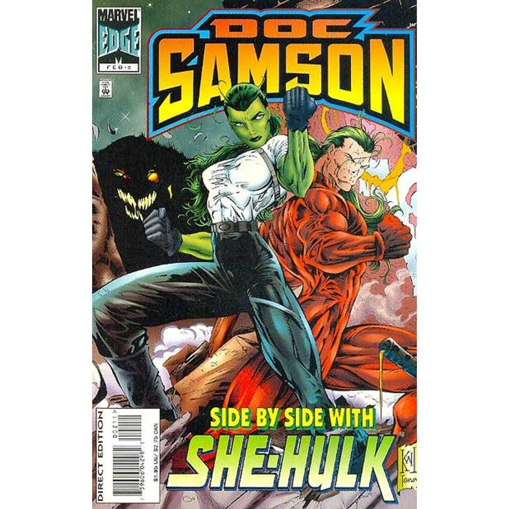 Comic Book Doc Samson 2 Marvel Rare Old Online Shop