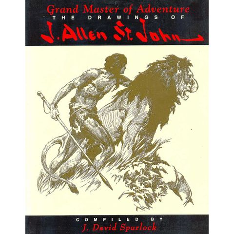 -importados-eua-grand-master-of-adventure-the-drawings-of-j-allen-st-john