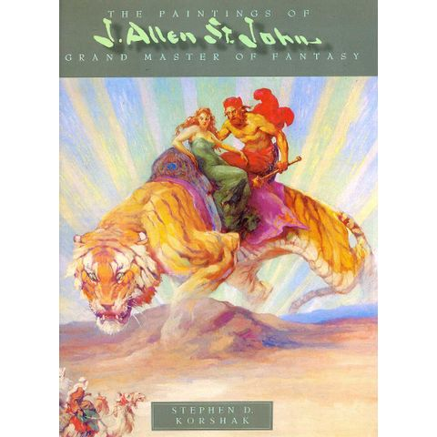 -importados-eua-grand-master-of-fantasy-the-paintings-of-j-allen-st-john