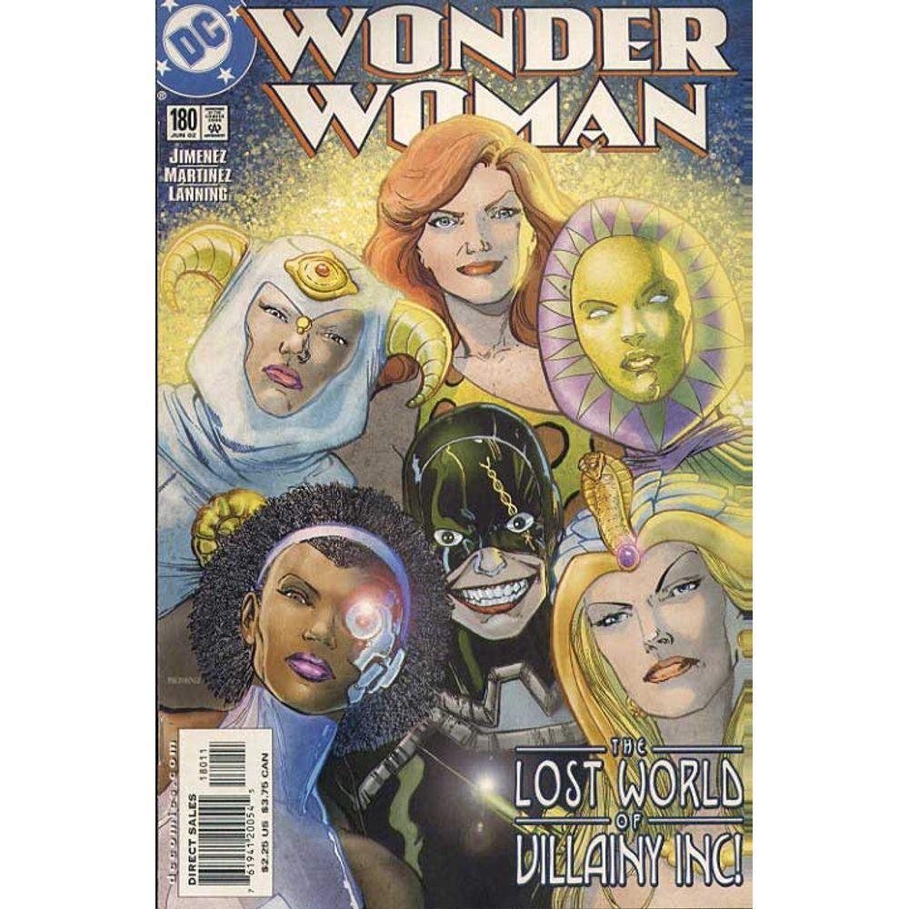 Comic Book Wonder Woman Volume 2 180 DC Rare Old Online Shop