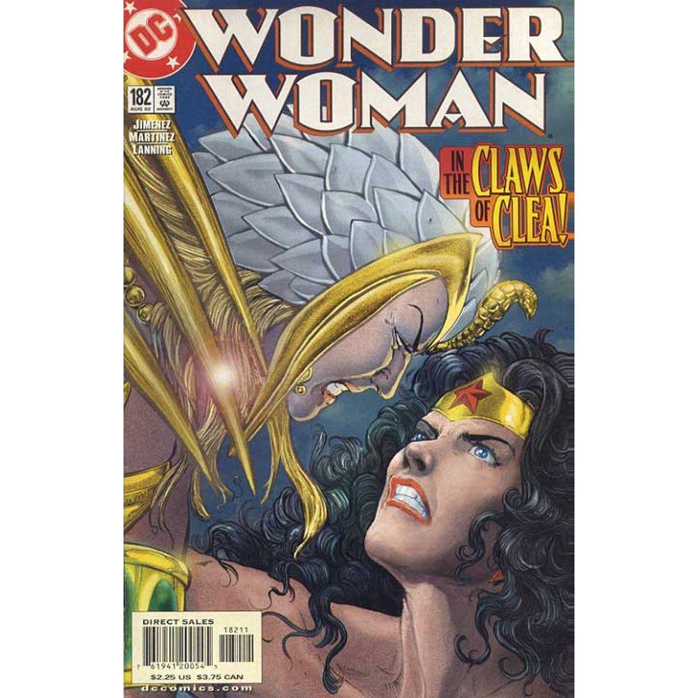 Comic Book Wonder Woman Volume 2 182 DC Rare Old Online Shop