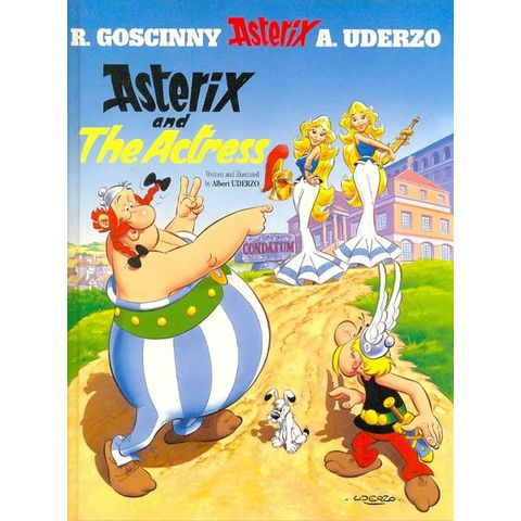 Asterix-and-the-Actress