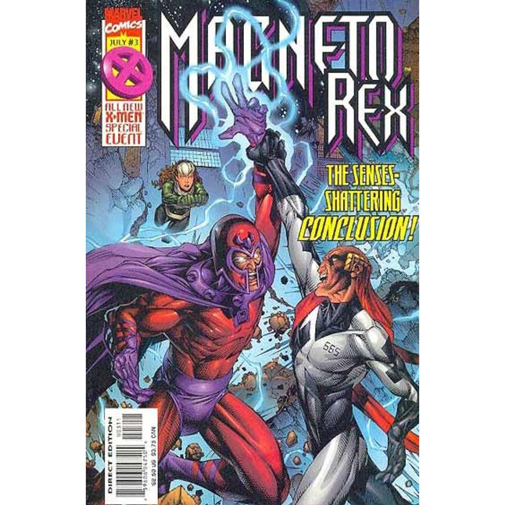 Comic Book Magneto Rex 3 Marvel Rare Old Online Shop