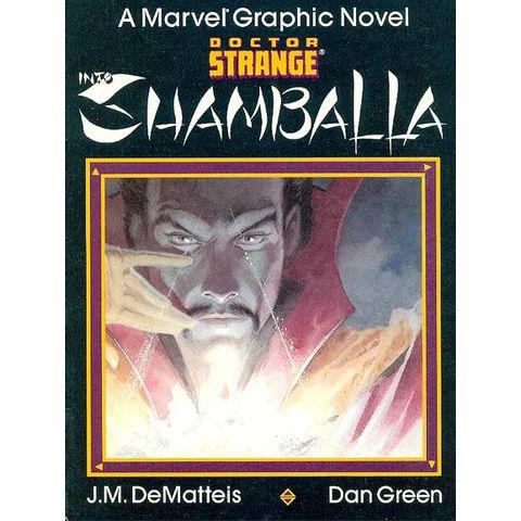 Marvel-Graphic-Novel---Doctor-Strange---Shamballa