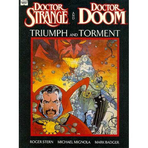 Marvel-Graphic-Novel---Doctor-Strange-and-Doctor-Doom---Triumph-and-Torment