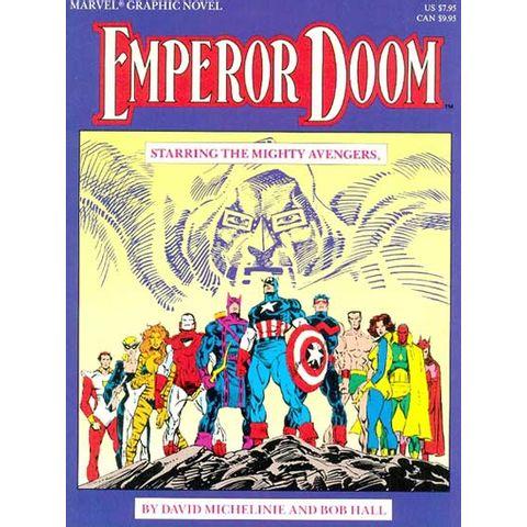 Marvel-Graphic-Novel---Emperor-Doom---Staring-the-Mighty-Avengers