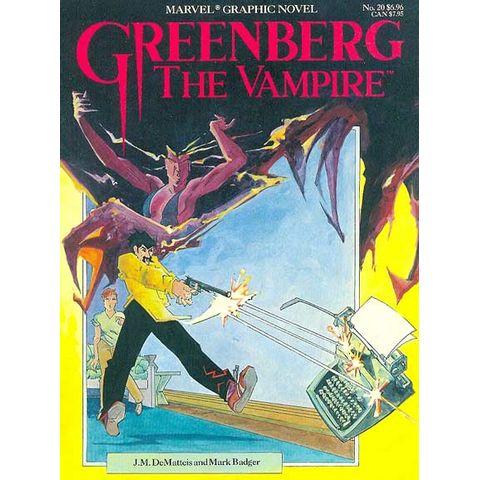 Marvel-Graphic-Novel---Greenberg-the-Vampire