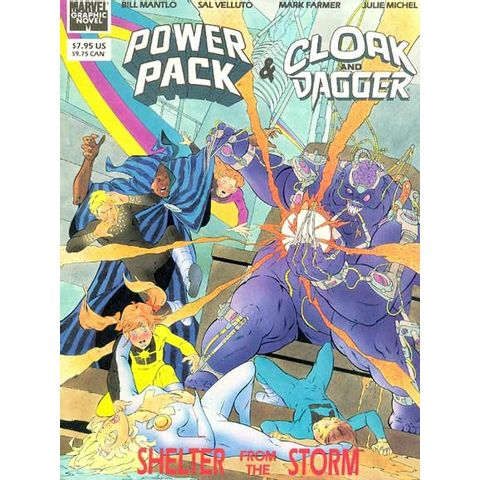 Marvel-Graphic-Novel---Power-Pack-and-Cloak-Dagger---Shelter-From-the-Storm