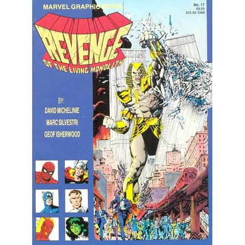 Marvel-Graphic-Novel---Revenge-of-the-Living-Monolith