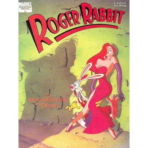 Marvel-Graphic-Novel---Roger-Rabbit---The-Ressurrection-of-Doom...
