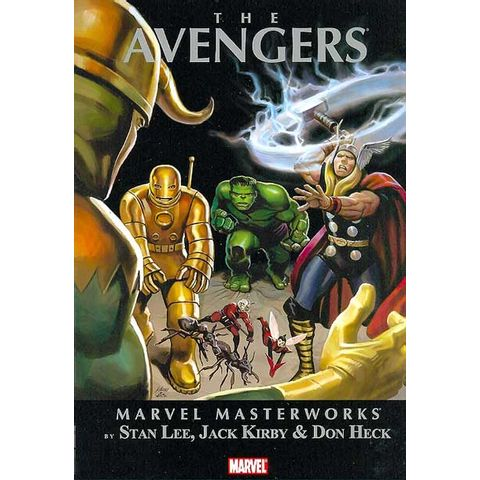 Marvel-Masterworks---The-Avengers-Volume-1--HC-
