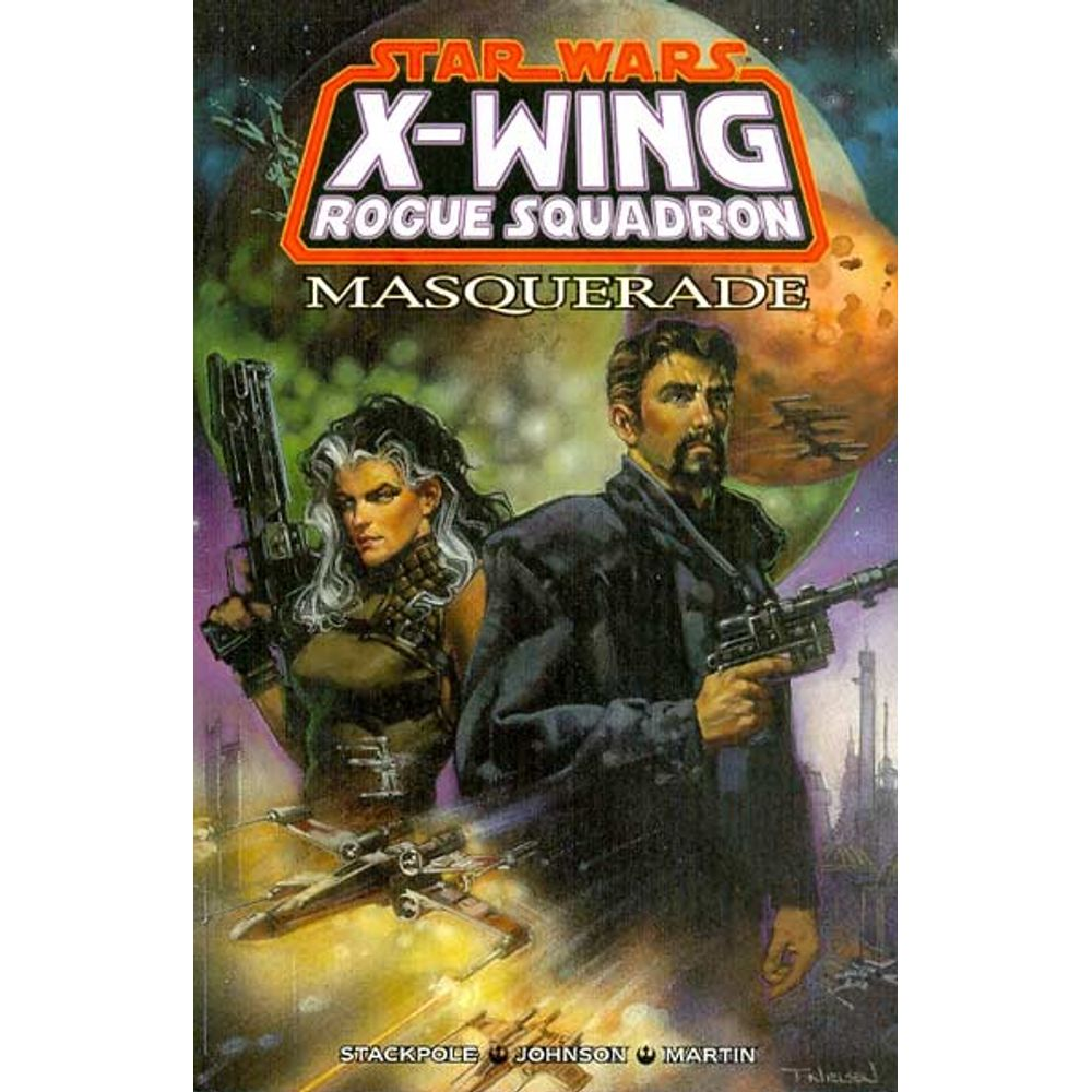 Comic Book Star Wars X-Wing Rogue Squadron Masquerade Dark