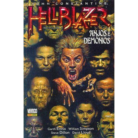 24a3000f009 John Constantine - Hellblazer - Infernal - Volume   3 - Anjos e Demônios