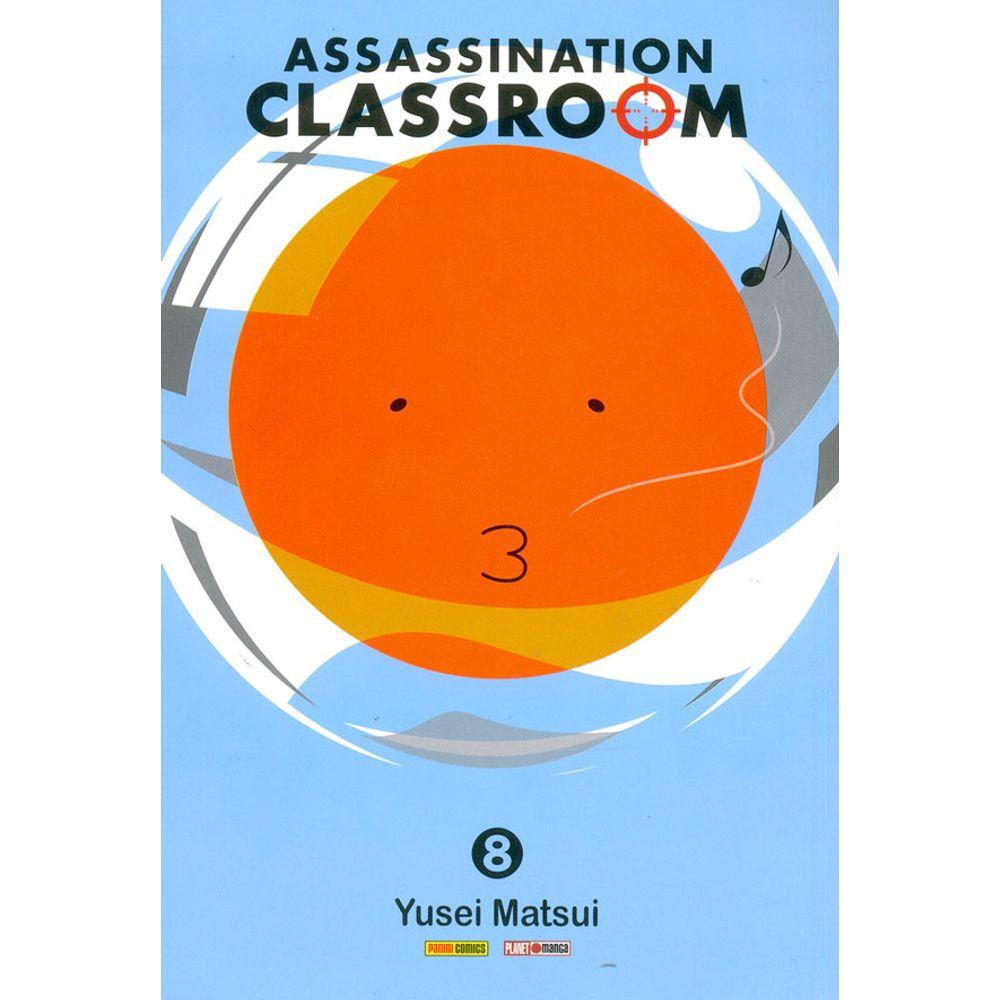 Compre Mangá Assassination Classroom 8 Panini Loja Online - Rika