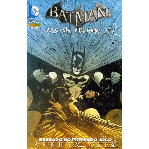Batman---Caos-em-Arkham-City---Volume-4