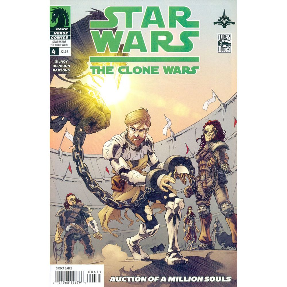 Gibi Importado Star Wars Clone Wars - Volume 1 # 04 - Rika