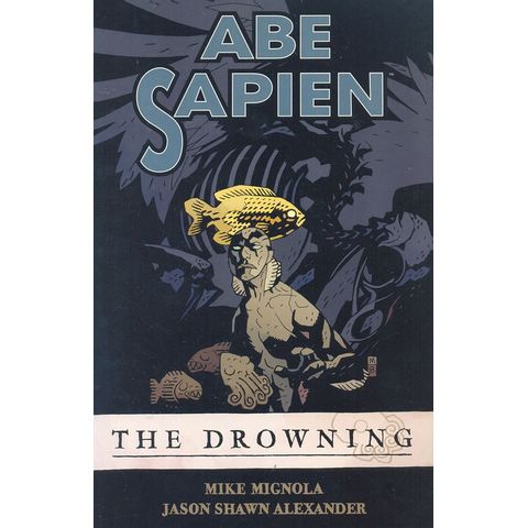 Abe-Sapien---The-Drowning