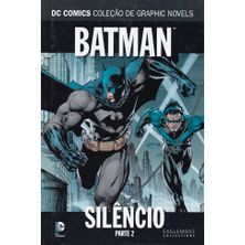 DC-Comics---Colecao-de-Graphic-Novels---02---Batman---Silencio---Parte-2
