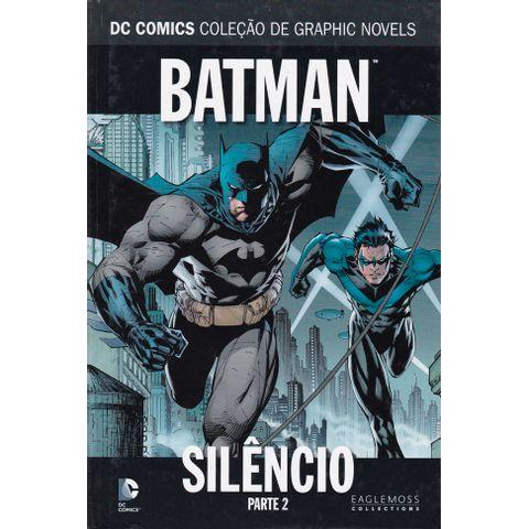 DC-Comics---Colecao-de-Graphic-Novels---02---Batman---Silencio---Parte-2