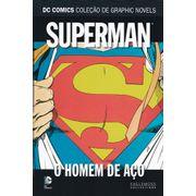 DC-Comics---Colecao-de-Graphic-Novels---08---Superman---O-Homem-de-Aco