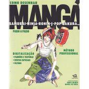 Como-Desenhar-Manga---Samurai-Ninja-Ronin-J-Pop-Sakura...