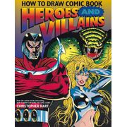 How-To-Draw-Comic-Book---Heroes-And-Villains-TPB