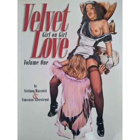 Velvet-Love---Girl-On-Girl-TPB---Volume-1