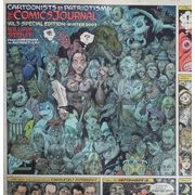 Comics-Journal-Library---Volume-3-Special-Edition---Cartoonists-On-Patriotism-TPB