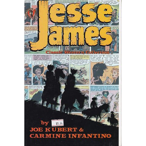 Jesse-James---Classic-Western-Collection-HC-