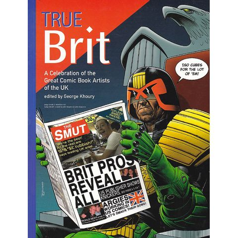 True-Brit---A-Celebration-Of-The-Great-Comic-Book-Artists-Of-The-UK-TPB