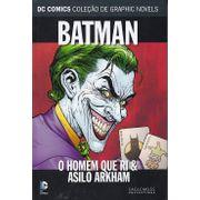 DC-Comics---Colecao-de-Graphic-Novels---34---Batman---O-Homem-Que-Ri-e-Asilo-Arkham-
