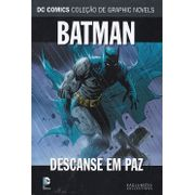 DC-Comics---Colecao-de-Graphic-Novels---43---Batman---Descanse-em-Paz