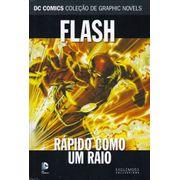DC-Comics---Colecao-de-Graphic-Novels---78---Flash---Rapido-Como-Um-Raio