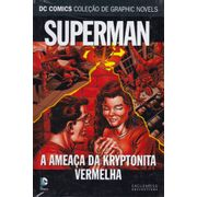 DC-Comics---Colecao-de-Graphic-Novels---79---Superman---A-Ameaca-da-Kryptonita-Vermelha