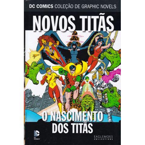 DC-Comics---Colecao-de-Graphic-Novels---84---Novos-Titas---O-Nascimento-dos-Titas