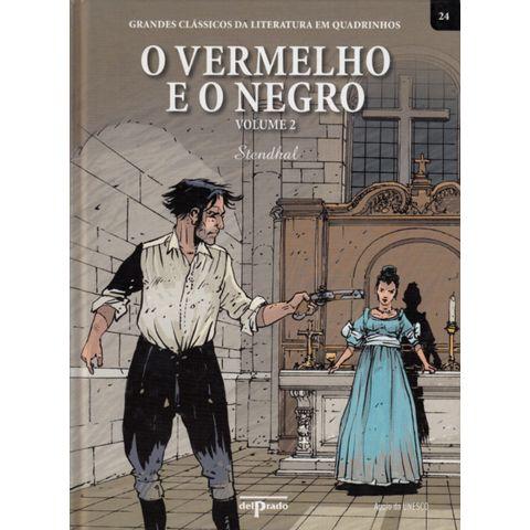 Grandes-Classicos-da-Literatura-em-Quadrinhos-24-O-Vermelho-e-o-Negro-Volume-2
