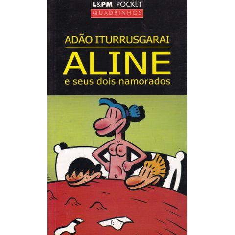 Aline-e-Seus-Dois-Namorados--L-PM-Pocket-Quadrinhos-