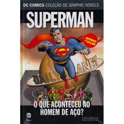 DC-Comics---Colecao-de-Graphic-Novels63---Superman---O-Que-Aconteceu-Ao-Homem-de-Aco