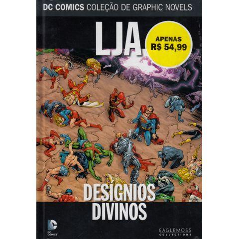 DC-Comics---Colecao-de-Graphic-Novels-62---LJA---Designios-Divinos