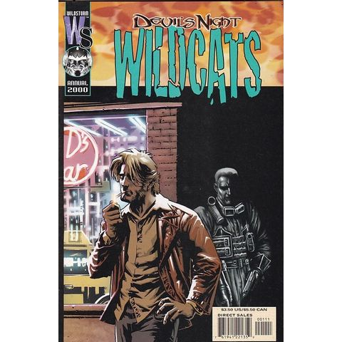 Rika-Comic-Shop--Wildcats-Annual---2000