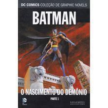 DC-Comics---Colecao-de-Graphic-Novels---15---Batman---O-Nascimento-do-Demonio---Parte-1