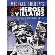 Rika-Comic-Shop--Michael-Golden-s-Heroes-and-Villains-Sketchbook---2--HC-